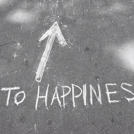 to happiness!