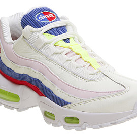NIKE - Air Max 95 Trainers Artic Pink Racer Blue F