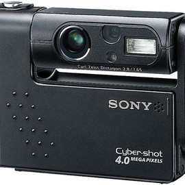 SONY - Cyber-shot DSC-F77 black