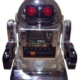 TOMY - Silver Omnibot