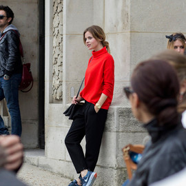 CELINE and NIKE - PFWSS2014-OUTF5