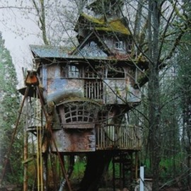 Howl's moving Treehouse? studio ghibli