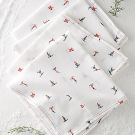 Anthropologie - Ski Slopes Napkin Set