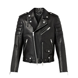 Burberry XO Barneys New York - Capsule Collection Quilted-Panel Moto Jacket