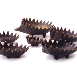 Walter Bosse - Stacking Hedgehog Ashtrays