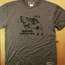 WAYHA MOUNTAIN TRAIL - 大山羊 T-shirt