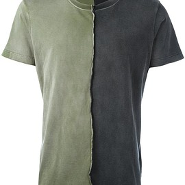 Diesel - two-tone T-shirt