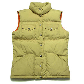 THE NORTH FACE - DOWN VEST 茶タグ