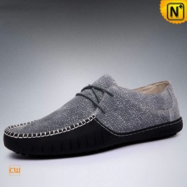 cwmalls - Handmade Leather Driving Shoes Moccasins CW740103