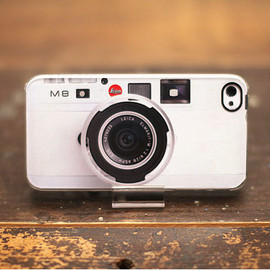 Leica - iPhone4 case - Leica M8 WHITE