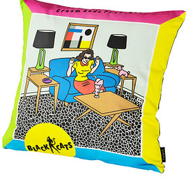 "MEDICOM TOY - VINYL ""BLACK CATS"" CUSHION CREAM-SODA PRESENTS"
