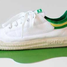 Volley - lace-up canvas sneakers