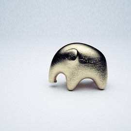 Shapeways - Elephant Black 3d printed