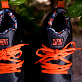 Puma, Size?, Bodega - Blaze of Glory - Orange/Black