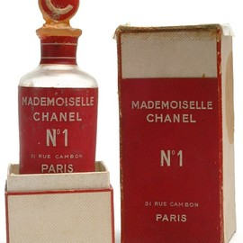 CHANEL - No 1 Parfum. Never officially sold. 1942-1946 experimentation.