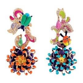 Christian Dior - Earrings Collection Milly Carnivora by Victoire de Castellane for Dior