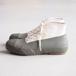 STUSSY Livin' - GS Rain Shoes by Moonstar #white/olive