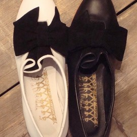LuiiRe select - LuiiRe select(shoes)(リュイルセレクト(シューズ))のF-TROUPE / BOW SHOE(ブーティ)|詳細画像