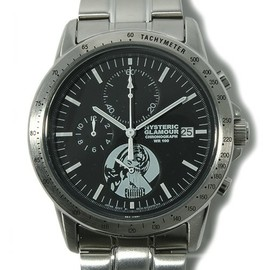 HYSTERIC GLAMOUR - GUITAR GIRL pt Chronograph WATCH