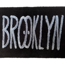 BROOKLYN RUG - by Kevin Lyons(NAVY×YELLOW)