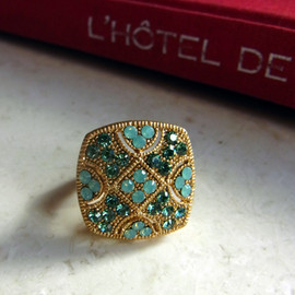 Anthropologie - Square Ring from N.Y