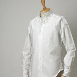 INDIVIDUALIZED SHIRTS - SLIM FIT CAMBRIDGE OX cotton WHITE