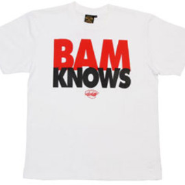 BBP, AFRIKA BAMBAATAA - BAM KNOWS TEE(OFFICIAL)