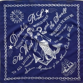 RRL - Mermaid Bandanna