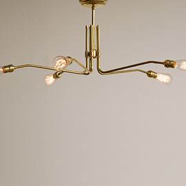 ACME - SOLID BRASS LAMP MID LONG 5 ARM