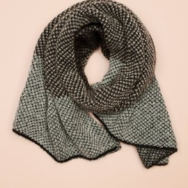 STEPHAN SCHNEIDER - FW11: Goat Scarf brown/grey