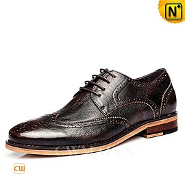 cwmalls - CWMALLS Leather Derby Brogue Shoes CW716248