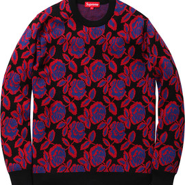 supreme - Rose Sweater
