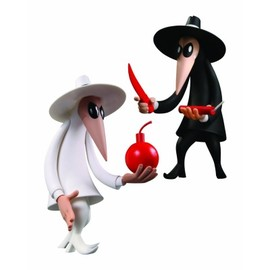 DC Direct - Spy Vs Spy Mad Vinyl Figure 2 Pack