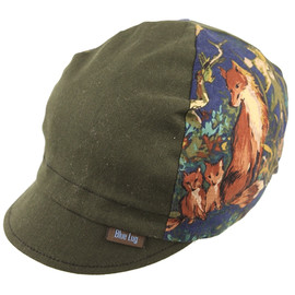 BLUE LUG - 4panel cycle cap