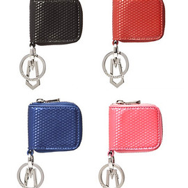 MARC JACOBS - MARC JACOBS マークジェイコブス Cube Coin Keychain コインケース