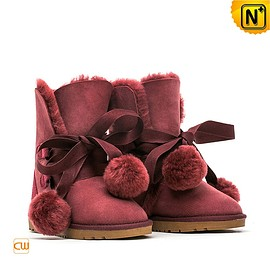 CWMALLS - Fashion Sheepskin Snow Boots CW314409