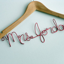 TellOurStoryToo - Personalized Wire Hanger