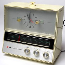 Hitachi - clock radio
