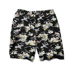 SOPHNET. - PATTERN  EASY SHORTS