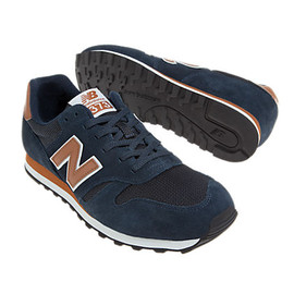 New Balance - New Balance 373 Navy and Tan