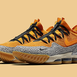 NIKE - LeBron 16 Low - Safari