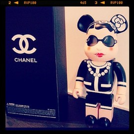 MEDICOM TOY, BE@RBRICK, CHANEL - BEAR BRICK
