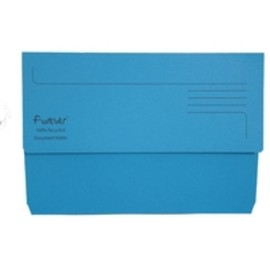 Guildhall - Bright Manilla Wallet Blue - 25 Pack