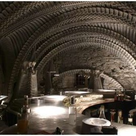 Gruyères, Canton of Fribourg, Switzerland - GIGER BAR