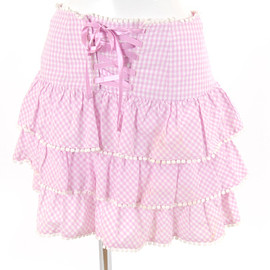 milk - milk skirt gingham