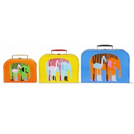 marimekko - karkuteilla set of 3 boston bags