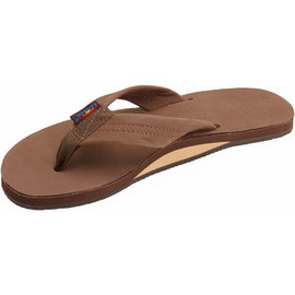 Rainbow Sandals - Premier Leather Single Layer