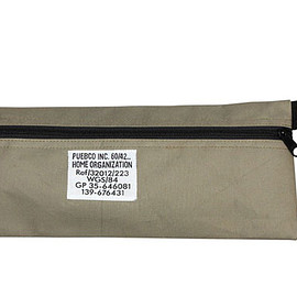 PUEBCO - LAMINATED FABRIC POUCH - Long
