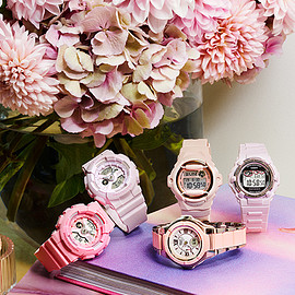 CASIO - PINK BOUQUET SERIES - BABY-G - CASIO