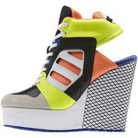 adidas - Adidas Originals Streetball Platform Wedge Shoes